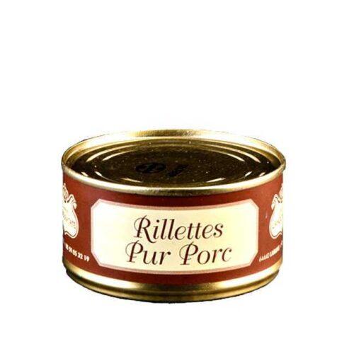 Rillettes pur porc: 180 g svinepaté fra fransk Baskerland (Lahouratate)
