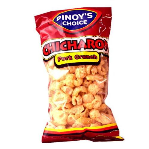 """100 g ekstra sprø chips av svinesvor (""""Chicharon"""") fra Filippinene"""