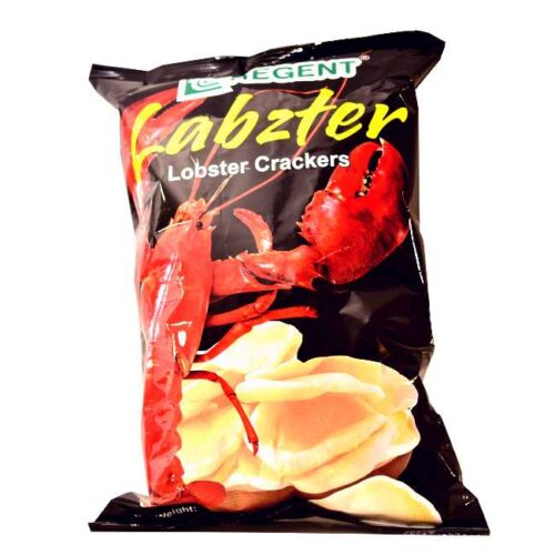 100 g chips med hummersmak (Lobster crackers) fra Filippinene