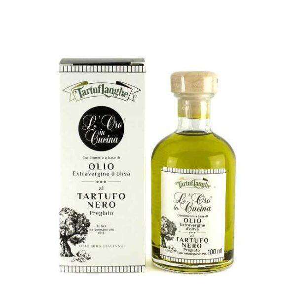 100 ml extravergine olivenolje, smakssatt med svart trøffel