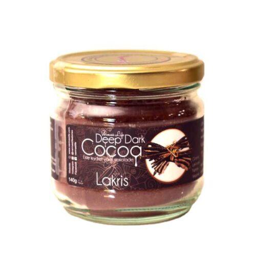 140 g mørk kakao krydret med lakris fra Neha Verma