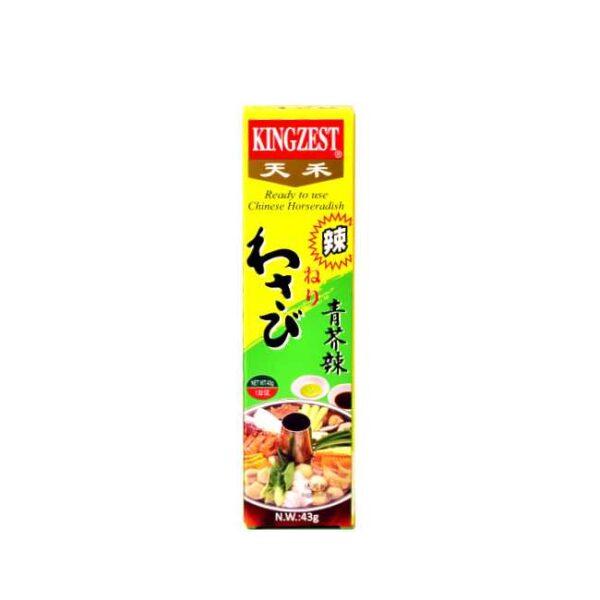 Wasabipaste fra Kina, på tube (43 g)