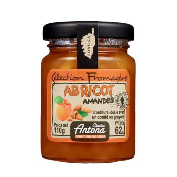 110 g aprikos- og mandelsyltetøy fra Corsica