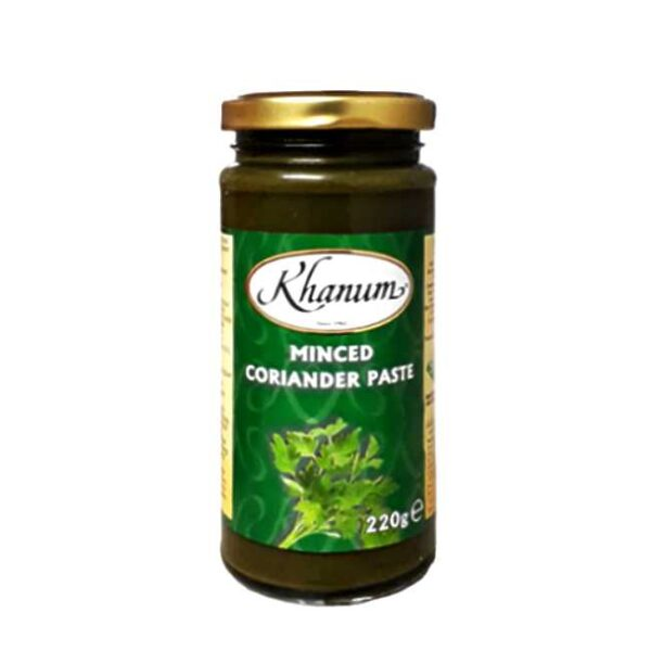 220 g moste korianderblader (coriander paste)