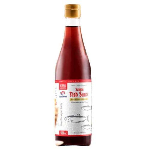 500 ml norskprodusert fish sauce av fermentert laks