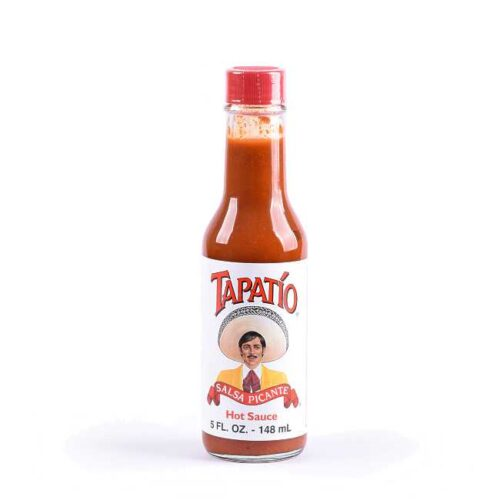 148 ml Tapatío Hot sauce (chilisaus), produsert i California
