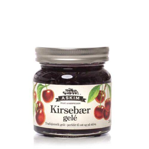 250 g norsk kirsebærgelé fra Askim
