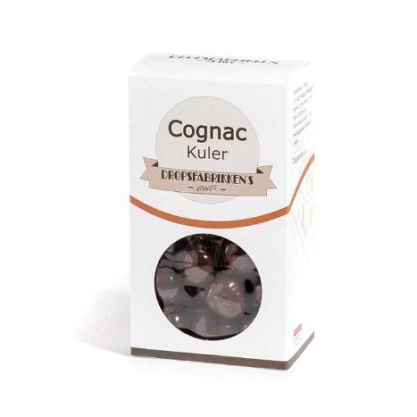 Eske med 100 g cognackuler (sjokolade fylt med cognac)