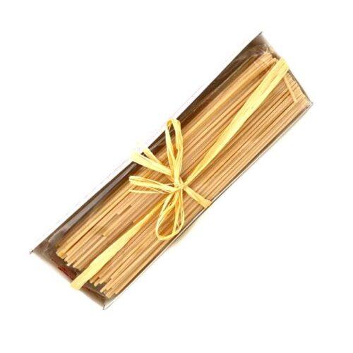 500 g spaghetti av durumhvete produsert i Abruzzo, Italia, i koselig eske