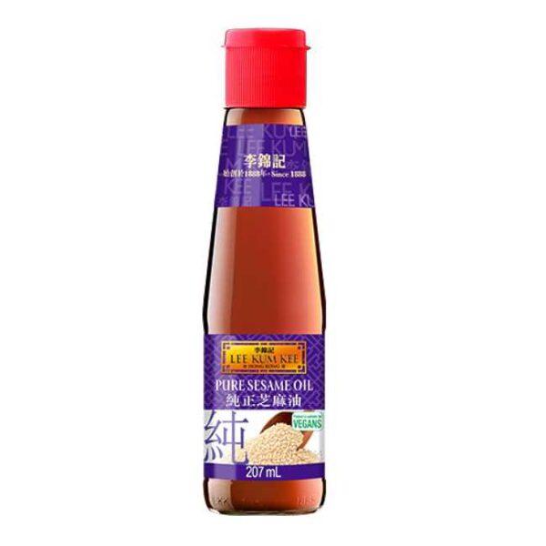 100% ren sesamolje fra kinesiske Lee Kum Kee, 207 ml