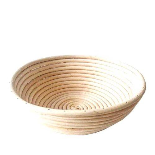 Rund hevekurv, 23 cm i diameter og 8 cm høy