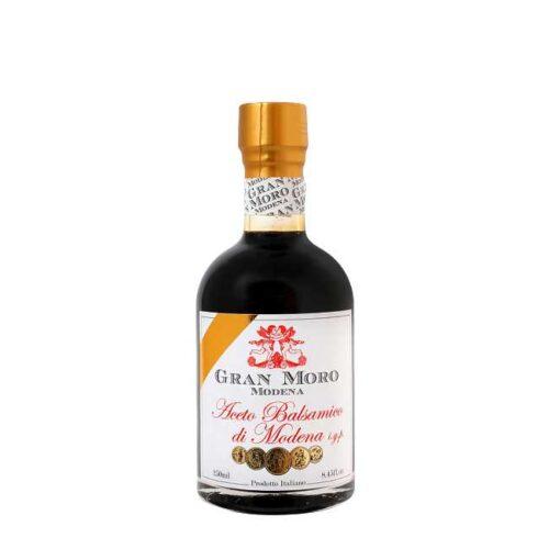 250 ml balsamicoeddik fra Modena: Gran Moro, med 5 medaljer og lagret i ca. 15 år