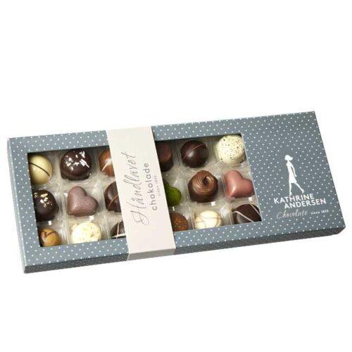 200 g håndlagd sjokoladekonfekt fra danske Kathrine Andersen