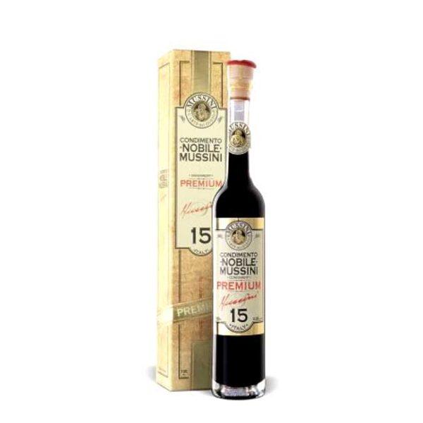 100 ml balsamicokonsentrat fra Mussini (i Modena)