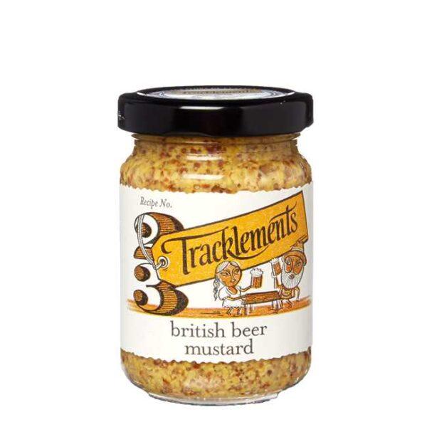 140 g grov ølsennep fra England