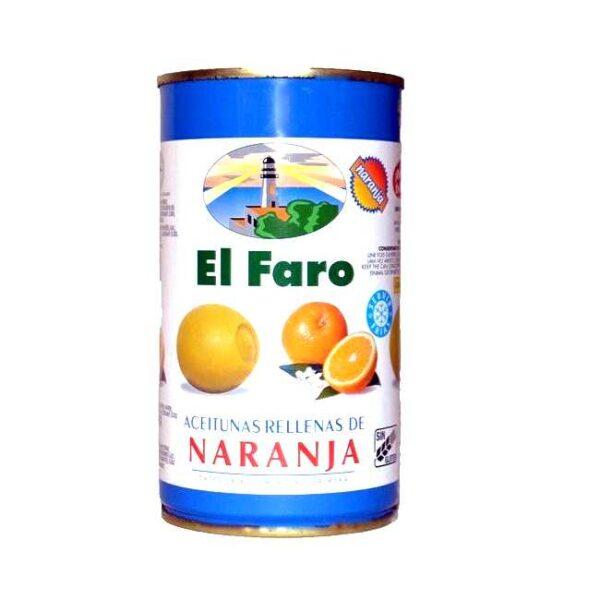 Spanske oliven fylt med appelsin, 350 g