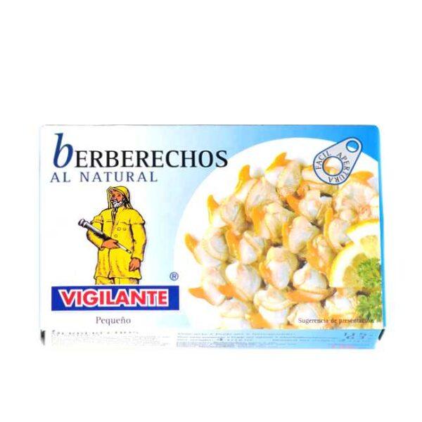115 g hermetiserte hjerteskjell (berberechos, telline) i egen kraft