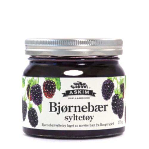 370 g norsk bjørnebærsyltetøy fra Askim Frukt- & Bærpresseri
