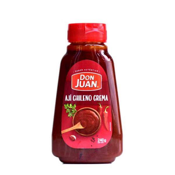 240 g Ají chileno crema, autentisk chilensk chilisaus fra produsenten Don Juan