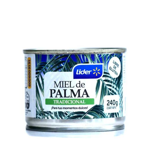 240 g miel de palma (palmehonning, eller palmesirup) fra Chile