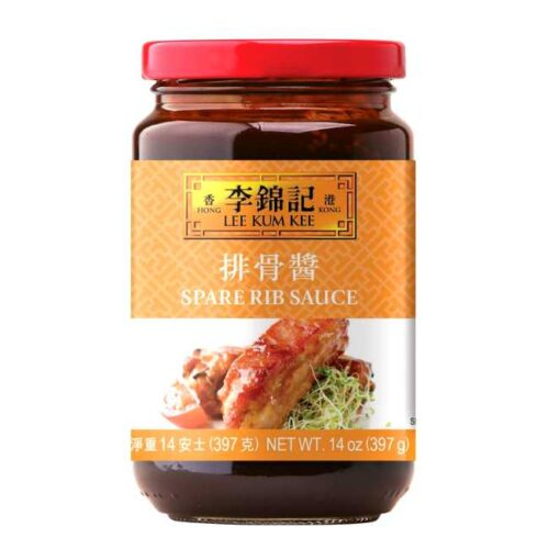 Tradisjonell kinesisk saus marinering av svineribbe (Spare rib sauce) fra kinesiske Lee Kum Kee, 397 g