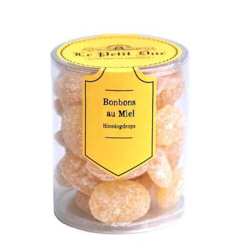 125 g Bonbons au miel (franske honningdrops), produsert i Provence av Le Petit Duc