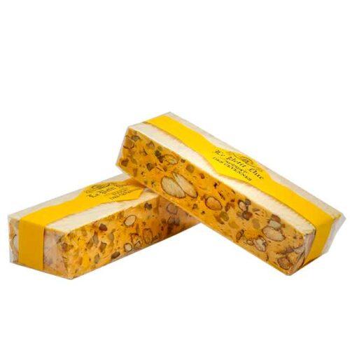 100 g fransk nougat des Cévennes med valnøtter og honning, produsert i Provence av Le Petit Duc