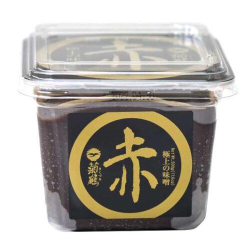 500 g rød, kraftig miso av soyabønner og ris, fra produsenten Shih-Chuan