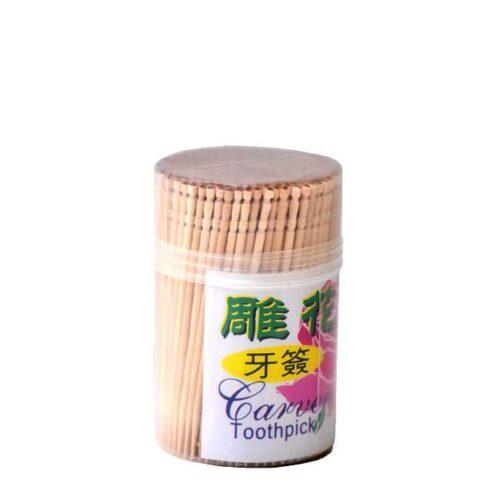 80 stk ubehandlede tannpirkere (uten smak)