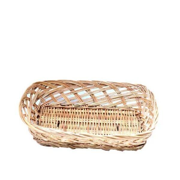 En liten, enkel brødkurv til ca. et halvt brød (24 x 18 cm)