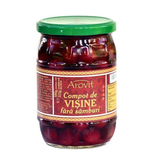 580 g kirsebærkompott (hvorav 315 g kirsebær)