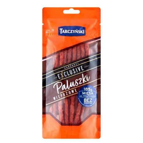 95 g tynne kabanos (snackpølser): 16 småpølser i pakken.