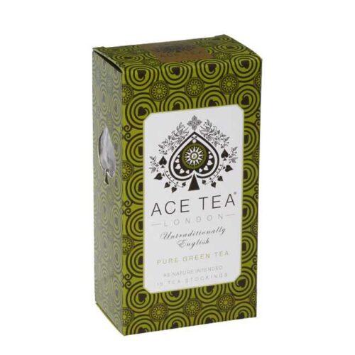 27 g (15 poser)Pure green tea (grønn te) fra England
