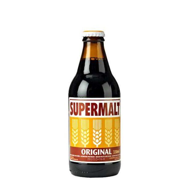 330 ml Supermalt maltøl på flaske