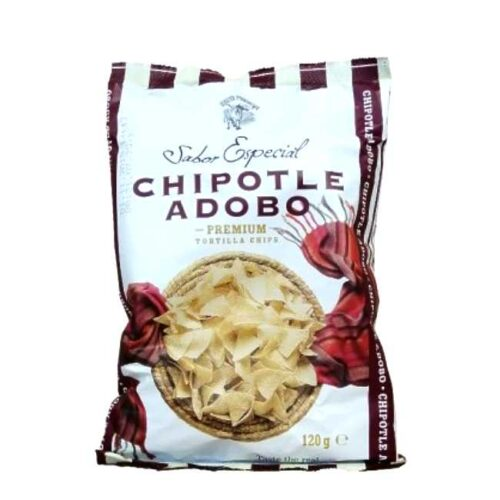 120 g tortillachips (av maismel) krydret med chili chipotle