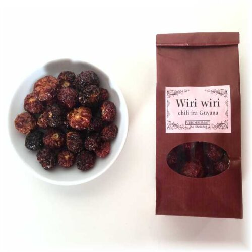 20 g hel, tørket wiri-wiri-chili